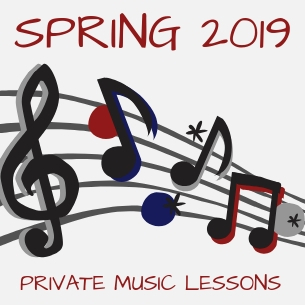 Spring 2019 Private Music Lessons