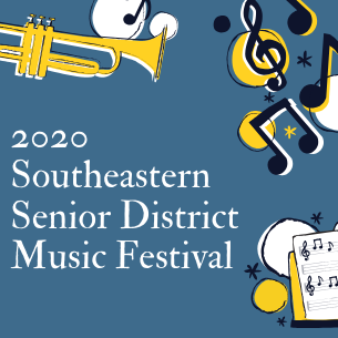 20 PHS students have been accepted to the 2020 Southeastern District Music Festival