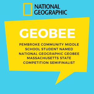 Student Named National Geographic GeoBee Massachusetts State Competition Semifinalist