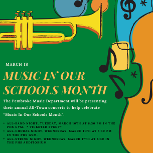 "March is ""Music In Our Schools Month""!"